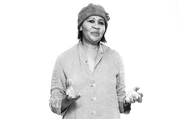 Jamaica Kincaid, photo by Ramona Rosales